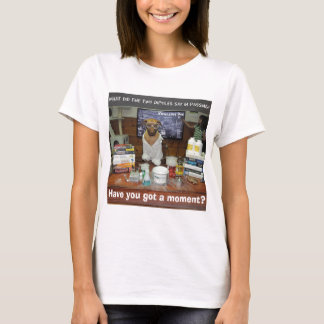 Knowledge Dog Dipole Moment T-Shirt