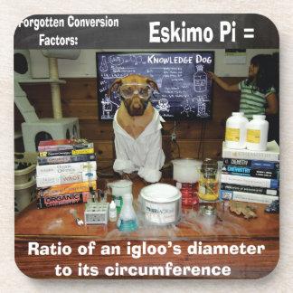 Knowledge Dog Forgotten Conversions Eskimo Pi Coasters