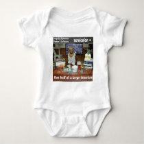 Knowledge Dog Forgotten Conversions Semicolon Baby Bodysuit