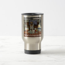 Knowledge Dog Forgotten Conversions Semicolon Travel Mug