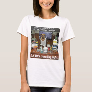 Knowledge Dog Photon Travelling Light T-Shirt