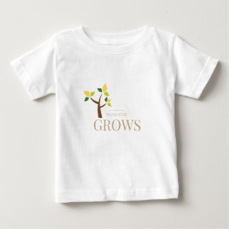 Knowledge Grows Baby T-Shirt