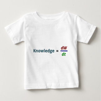 Knowledge is power baby T-Shirt