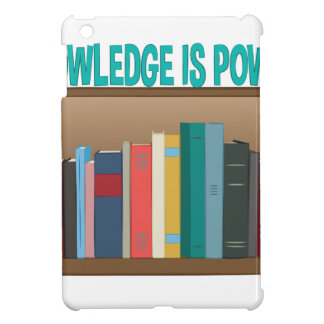 Knowledge Is Power Case For The iPad Mini