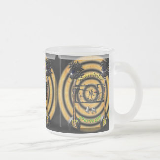 Knowledge Is Power Frosted Glass Coffee Mug