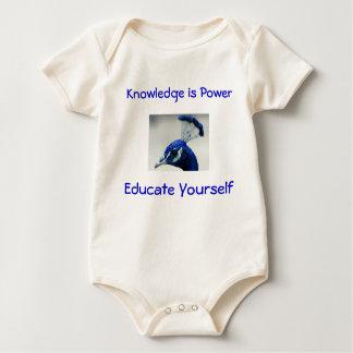 Knowledge is Power infant onsie creeper