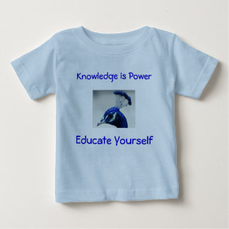 Knowledge is Power infant shirt