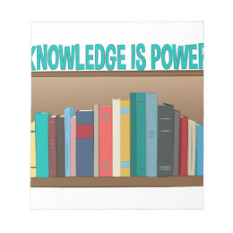 Knowledge Is Power Notepad