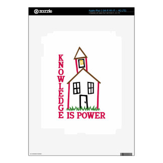 Knowledge Is Power Skin For iPad 3
