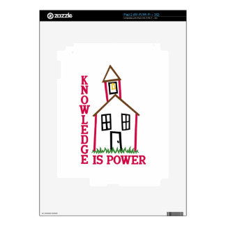 Knowledge Is Power Skin For The iPad 2