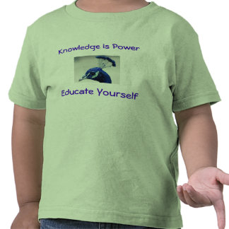 Knowledge is Power toddler shirt
