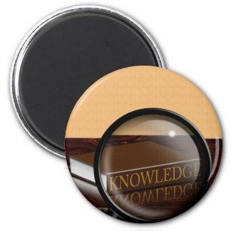 Knowledge 2 Inch Round Magnet