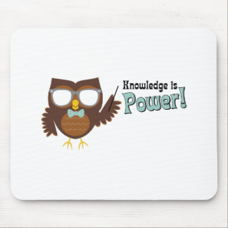 Knowledge Owl Mouse Pad