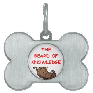 knowledge pet tag