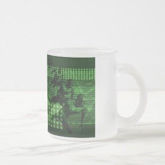 Knowledge Sharing in a Team as a Digital Frosted Glass Coffee Mug