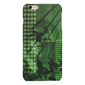 Knowledge Sharing in a Team as a Digital Matte iPhone 6 Plus Case