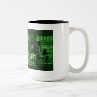 Knowledge Sharing in a Team as a Digital Two-Tone Coffee Mug