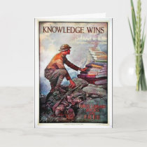 Knowledge Wins Card