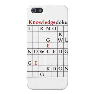 knowledgedoku iPhone 5 cárcasas