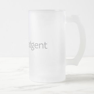 Knowledgent Frosted Beer Mug