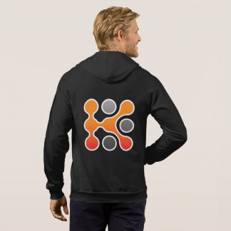 Knowledgent Zip Up Hooded Sweatshirt