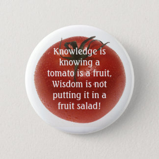 Knowlege is Not  Always Logic. Button