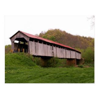 Knowlton Covered Bridge Postcard