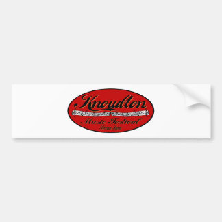 Knowlton Music Festival Red Spot Bumper Sticker