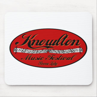 Knowlton Music Festival Red Spot Mouse Pad