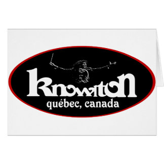 Knowlton Music Festival Souvenir Logo Card