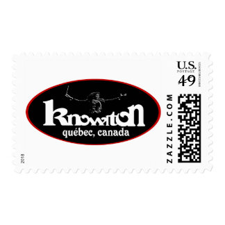 Knowlton Music Festival Souvenir Logo Postage Stamp