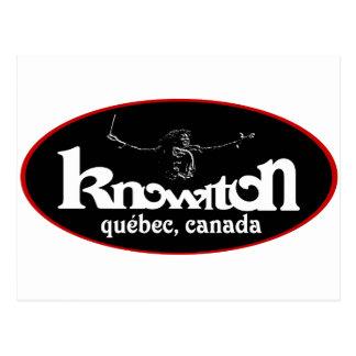 Knowlton Music Festival Souvenir Logo Postcard