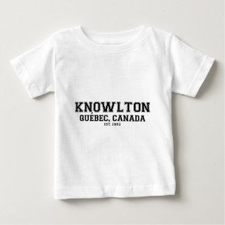 KNOWLTON_QUEBEC_BLACK BABY T-Shirt