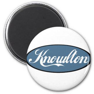 Knowlton Quebec Scripted Souvenirs Magnet