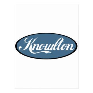 Knowlton Quebec Scripted Souvenirs Postcard
