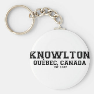 Knowlton Quebec Souvenirs Keychain