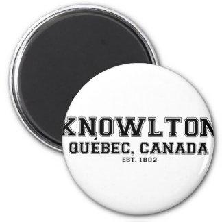 Knowlton Quebec Souvenirs Magnet
