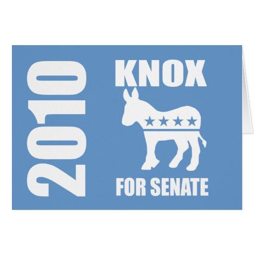 KNOX 2010 CARD