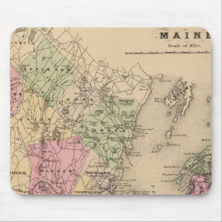 Knox County, Maine Mouse Pad