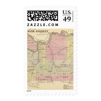 Knox County, Nebraska Stamp