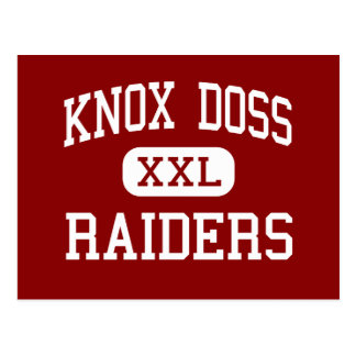 Knox Doss - Raiders - Middle - Gallatin Tennessee Postcard