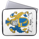 Knox Family Crest Computer Sleeve
