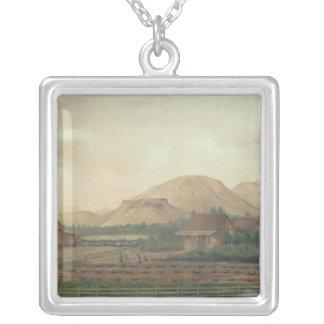Knox Ranch, Idaho Silver Plated Necklace