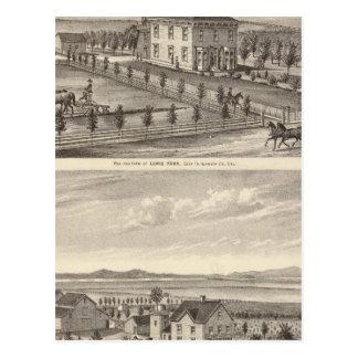 Knox, Stone residences Postcard