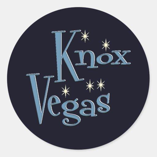 KnoxVegas Stickers