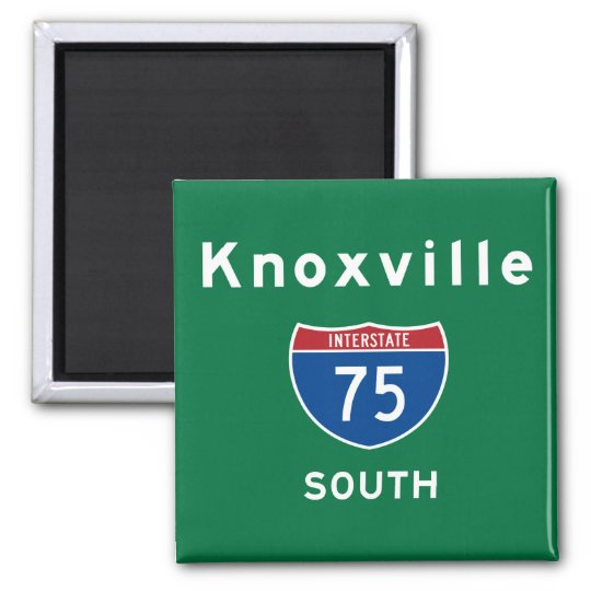Knoxville 75 magnet