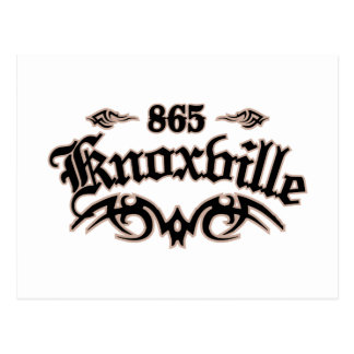 Knoxville 865 postal