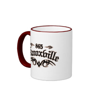 Knoxville 865 taza de dos colores