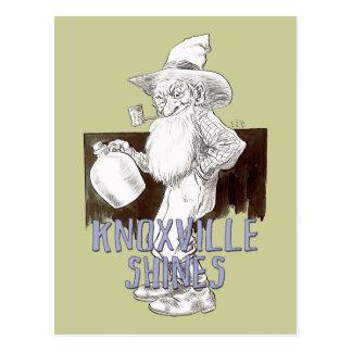 Knoxville brilla postal