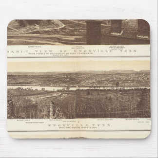 Knoxville, Chattanooga Mousepad